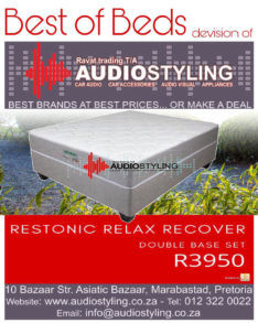 Restonic Relax Recover double base set